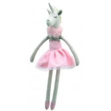 Парцалена кукла The Puppet Company - Танцуващ еднорог, 30 cm