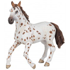 Фигурка Papo Horses, Foals And Ponies – Кобила, порода Апалуза, кафява -1