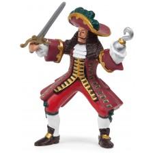 Фигурка Papo Pirates and Corsairs – Капитан на пиратски кораб -1