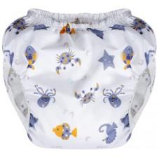 Памперс гащи за многократна употреба Sevi Baby 2 - Морски животни -1