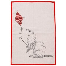 Памучно килимче Bloomingville - Порче с хвърчило, розово -1