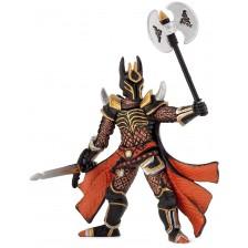 Фигурка Papo Fantasy World – Рицарят на мрака с меч и брадва