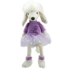 Парцалена кукла The Puppet Company - Пудел, 40 cm