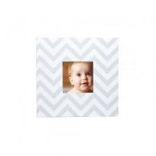 Бебешки албум за снимки Pearhead - бял -1
