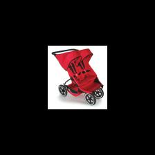 Phil & Teds Количка за близнаци E3, червен -1