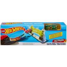Писта с количка Hot Wheels Action - Electric Tower -1