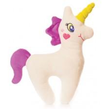 Плюшена играчка Fluffii - Еднорог Флорик -1