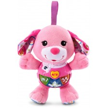 Музикална плюшена играчка Vtech - Розово кученце -1