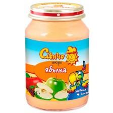 Плодово пюре Слънчо - Ябълка, 190 g
