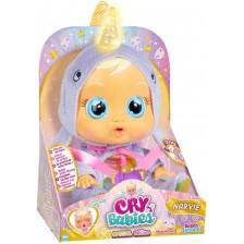 Плачеща кукла със сълзи IMC Toys Cry Babies Special Edition - Нарви, със светещ рог -1