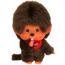 Плюшена играчка Monchhichi - Маймунка, Mini Boy, 10 cm -1