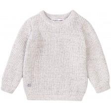 Плетен пуловер Minoti - Doubt, 12-18 месеца -1