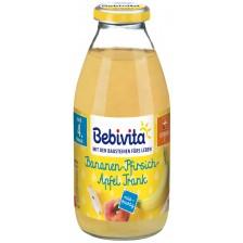 Плодов сок Bebivita - Банан и праскова, 200 ml -1