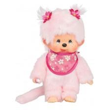 Плюшена играчка Monchhichi - Маймунка, Cherry Blossom, 20 cm -1