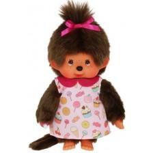Плюшена играчка Monchhichi - Маймунка, Pop'n Candy, 20 cm -1
