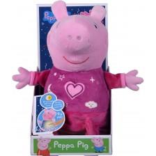 Плюшена светеща играчка Simba Toys Peppa Pig - Пепа, 25 cm -1