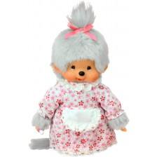 Плюшена играчка Monchhichi - Маймунка, Баба, 20 cm -1