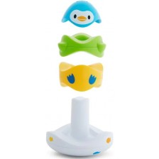 Плаващи играчки за баня Munchkin - Stack and Match -1