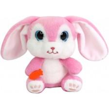 Плюшена играчка Funville CuteKins Pet Palls - Зайче, със звук -1