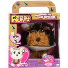 Плюшена играчка Rescue Runts Спаси мъничето - Йорки -1