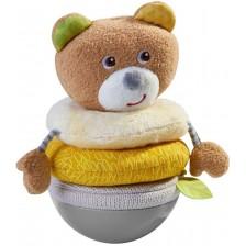 Плюшена играчка Haba - Клатушкащо се мече -1