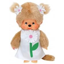 Плюшена играчка Monchhichi - Маймунка, Margaret, 20 cm -1