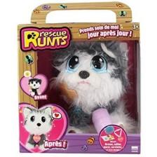 Плюшена играчка Rescue Runts Спаси мъничето - Хъски -1