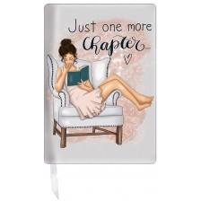 Подвързия за книга Just one more chapter -1