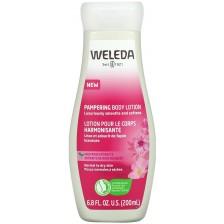 Подхранващ лосион за тяло с дива роза Weleda, 200 ml -1