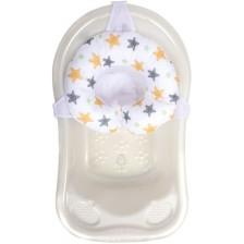 Подложка за къпане тип пояс Sevi Baby - Звезди -1
