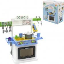 Детска кухня Polesie Toys - Natali 4 -1