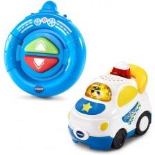 Детска играчка Vtech - Полицейска кола, радиоуправляема -1