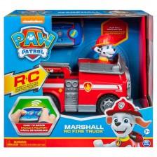 Пожарната кола на Маршал с радиоуправление Spin Master Paw Patrol -1