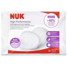 Подплънки за кърмачки Nuk High Performance, 8 броя -1