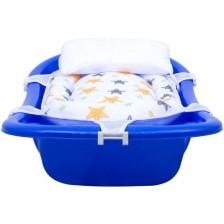 Подложка за къпане с възглавница Sevi Baby - Звезди -1