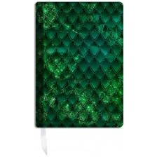 Подвързия за книгаDragon treasure - Emerald Green -1