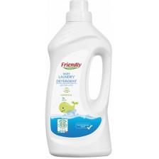 Препарат за пране Friendly Organic Marseille - За бебешки дрехи,  1 l  -1