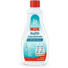 Препарат за почистване на бебешки шишета NUK, концентрат, 500 ml -1