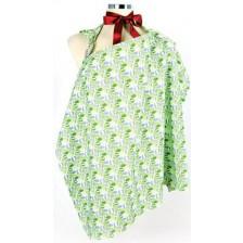 Престилка за кърмене Mycey  - Grassgreen, зелена -1