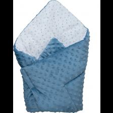 Бебешко одеяло 2 в 1 Bubaba, синьо -1