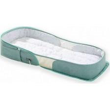Kikkaboo Преносимо легло-чанта 2в1 Bear Mint -1