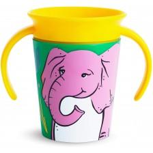 Munchkin Тренировъчна чаша 360° Elephant 177ml -1