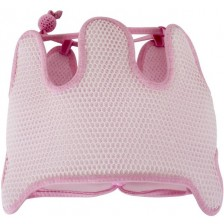 Предпазна бебешка каска с мембрана Sevi Baby - Розова -1