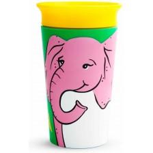 Munchkin Тренировъчна чаша 360° Elephant 266ml -1