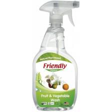 Препарат за измиване на плодове и зеленчуци Friendly Organic - 650 ml -1