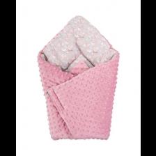Bubaba 2 в 1 Одеяло и чувал Розово -1