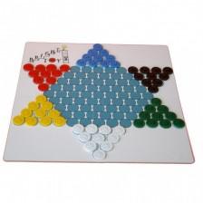 Детска игра 2 в 1 Bright Toys Прескочи копчето! - Китайска дама и Халма -1