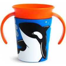 Преходна чаша Munchkin - Orca, 177 ml -1