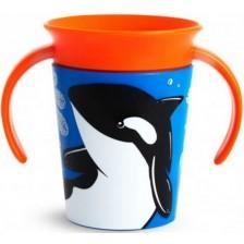 Преходна чаша Munchkin - Orca, 266 ml -1