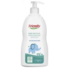 Препарат за ръчно измиване Friendly Organic - За бебешки съдове, 300 ml -1
